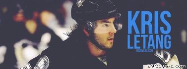Kris Letang Pittsburgh Penguins Facebook Cover Photo