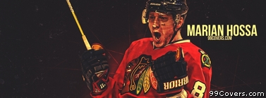 Marian Hossa Chicago Blackhawks Facebook Cover Photo