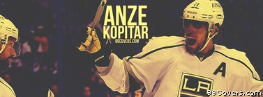 Anze Kopitar LA Kings Facebook Cover Photo