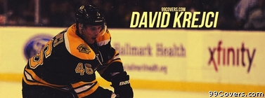 David Krejci Boston Bruins Facebook Cover Photo