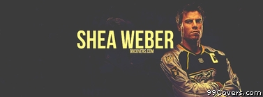Shea Weber Nashville Predators Facebook Cover Photo