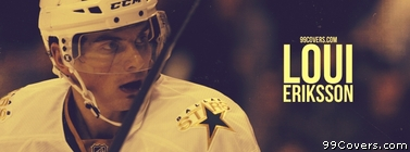 Loui Eriksson Dallas Stars Facebook Cover Photo