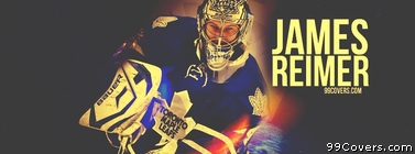 James Reimer Toronto Maple Leafs Facebook Cover Photo