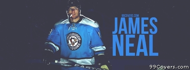 James Neal Pittsburgh Penguins Facebook Cover Photo