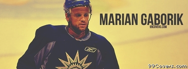Marian Gaborik New York Rangers Facebook Cover Photo
