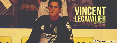 Vincent Lecavalier Tampa Bay Facebook Cover Photo