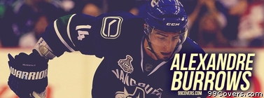 Alexandre Burrows Vancouver Canucks Facebook Cover Photo