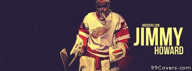 Jimmy Howard Detroit Red Wings Facebook Cover Photo