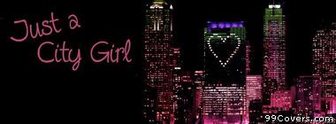 City Girl Facebook Cover Photo