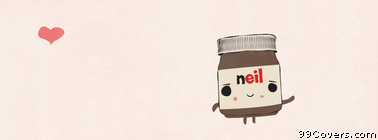 nutella heart Facebook Cover Photo