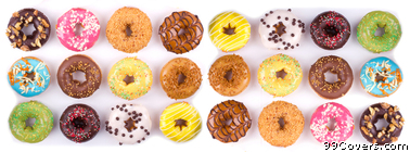 donuts Facebook Cover Photo