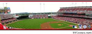 cincinnati reds stadium Facebook Cover Photo