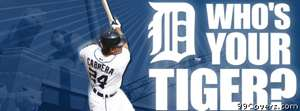 detroit tigers miguel cabrera Facebook Cover Photo