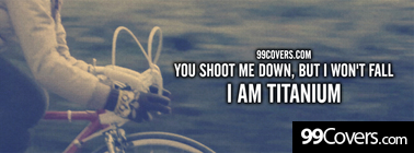 david guetta ft sia titanium lyrics Facebook Cover Photo