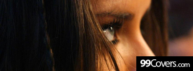 adriana lima eyes close Facebook Cover Photo
