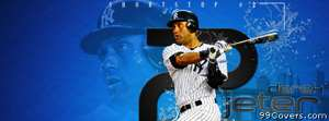new york yankees derek jeter Facebook Cover