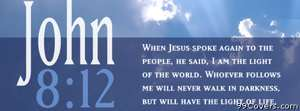 bible quote Facebook Cover