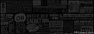 scripture type Facebook Cover Photo