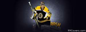boston bruins rask Facebook Cover Photo