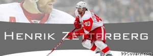 detroit red wings henrik zetterberg Facebook Cover Photo