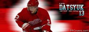 detroit red wings pavel datsyuk Facebook Cover