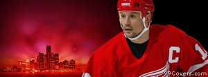 detroit red wings steve yzerman Facebook Cover Photo