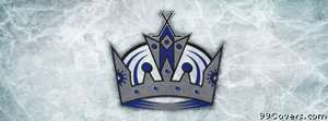 los angeles kings ice logo Facebook Cover Photo