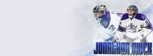 los angeles kings jonathan quick Facebook Cover Photo