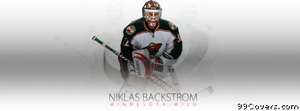 minnesota wild niklas backstrom Facebook Cover Photo