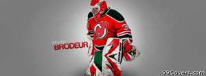 new jersey devils brodeur Facebook Cover Photo