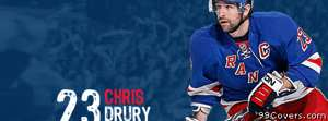 new york rangers chris drury Facebook Cover Photo