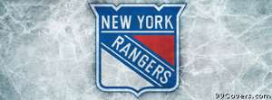 new york rangers ice logo Facebook Cover