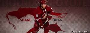 Phoenix coyotes shane doan Facebook Cover Photo