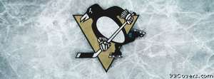 Pittsburgh Penguins ice logo Facebook Cover Photo