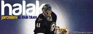 st louis blues halak jaroslav Facebook Cover Photo