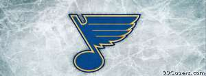 st louis blues ice logo Facebook Cover Photo