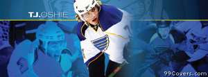 st louis blues tj oshie Facebook Cover Photo