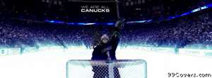 vancouver canucks luongo Facebook Cover