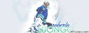 vancouver canucks luongo Facebook Cover Photo