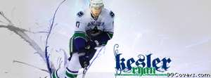 vancouver canucks ryan kesler Facebook Cover Photo
