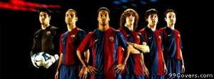 barcelona top players Facebook Cover Photo