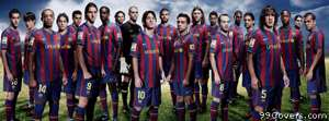 barcelona team Facebook Cover Photo
