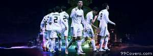 real madrid 2011 team Facebook Cover