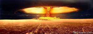 nuclear explosion Facebook Cover Photo