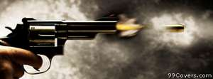 shooting revolver Facebook Cover Photo