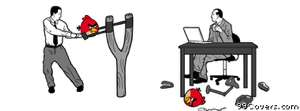 office angry birds Facebook Cover Photo