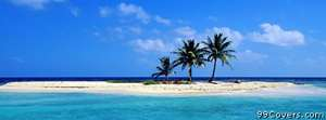 desert island Facebook Cover Photo