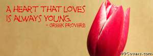 loving heart young Facebook Cover Photo