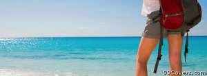 beach travel Facebook Cover Photo
