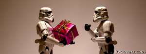 stromtrooper christmas Facebook Cover